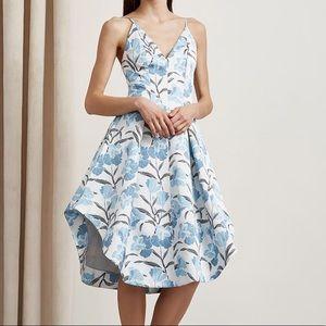 Keepsake Light Wall Paper Floral Maxi  Dress